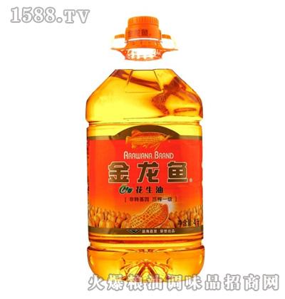 金龙鱼特香花生油(瓶装4L)
