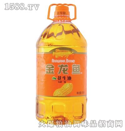 金龙鱼花生油(瓶装5L)