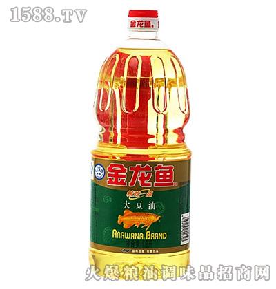 金龙鱼精炼一级大豆油(桶装1.8L)