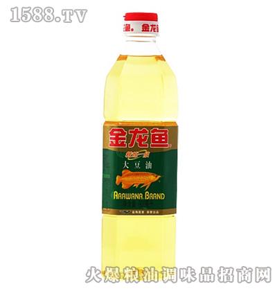 金龙鱼精炼一级大豆油(瓶装900ml)