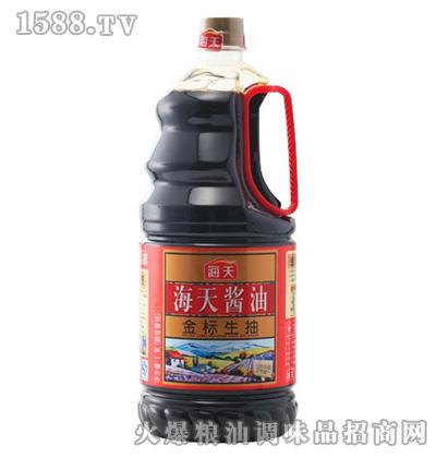 海天金标生抽1.9L桶
