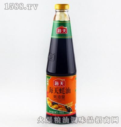 海天蚝油皇705ml瓶