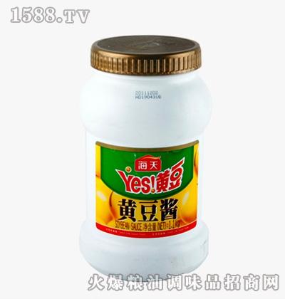 海天黄豆酱1.1kg桶