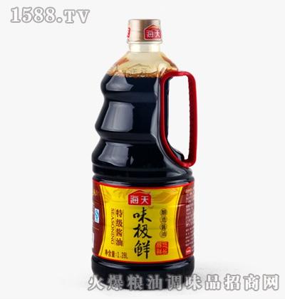 海天味极鲜酱油1.28L桶
