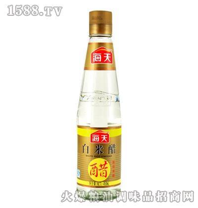 海天白米醋450ml瓶