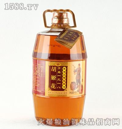 胡姬花古法小榨花生油4L桶