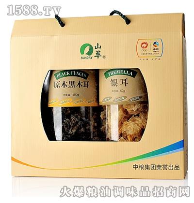 山萃食用菌150g+50g礼盒