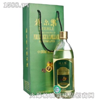 得尔乐贡纯系列有机冷榨一级山茶油1000ml礼盒装