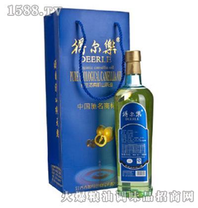 得尔乐�Z纯系列有机压榨一级山茶油1000ml