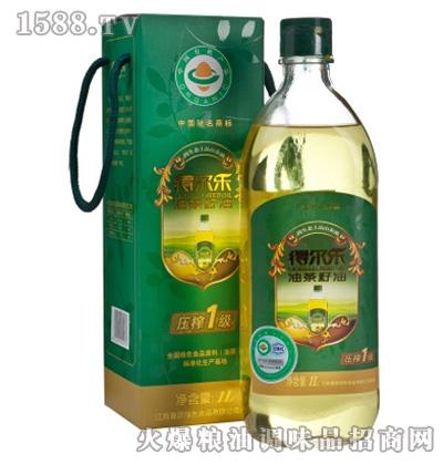得尔乐有机油茶籽油1L