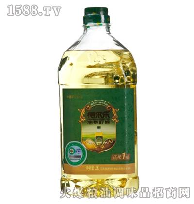 得尔乐有机油茶籽油2L