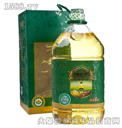 得尔乐有机油茶籽油5L