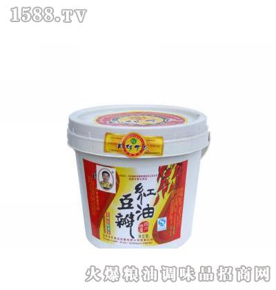 罗氏桶装红油豆瓣规格