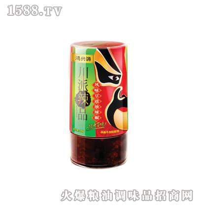 鸿兴源风味豆鼓油辣椒280克