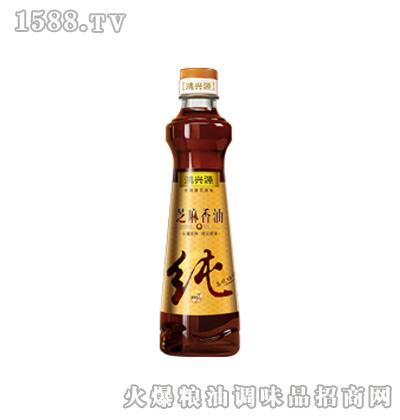鸿兴源100%纯芝麻香油400ml