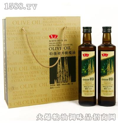 鲁花橄榄油500ml×2