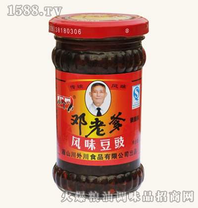 邓老爹风味豆豉(220g)