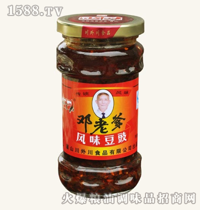 邓老爹风味豆豉(300g)