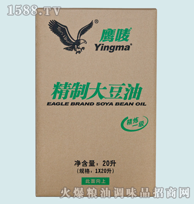 鹰唛大豆油20L
