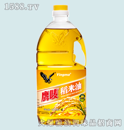 鹰唛稻米油900ml