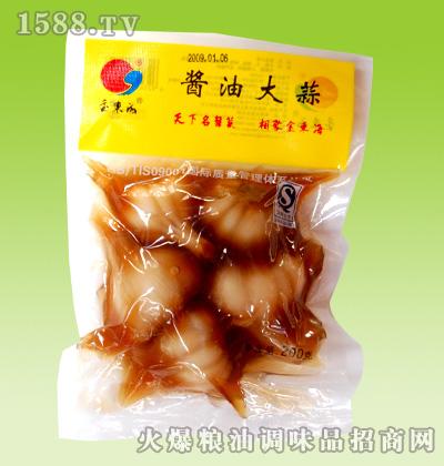 金东海酱油大蒜