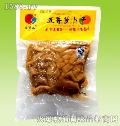金东海五香萝卜干
