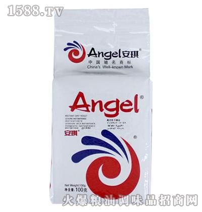 安琪低糖高活性干酵母(白色装)100克