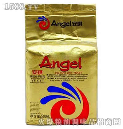 安琪高糖高活性干酵母500克-金色装