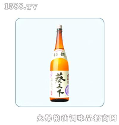 葵天下本酿造清酒1.8L