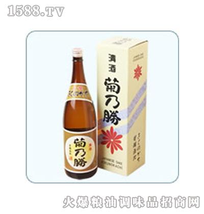 菊乃胜清酒1.8L装