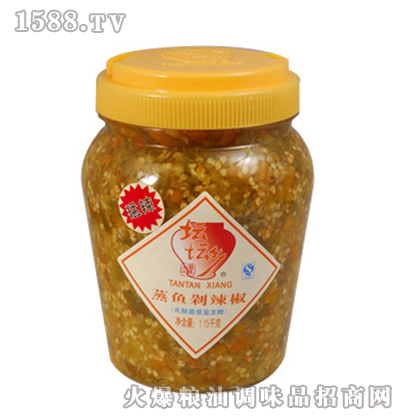 蒸鱼剁辣椒1.15kg×6桶
