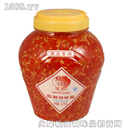 精制剁辣椒2.3kg×6桶