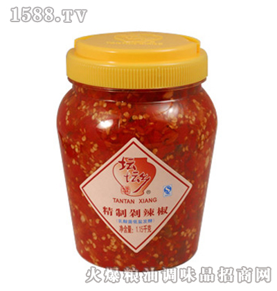 精制剁辣椒1.15kg×6桶