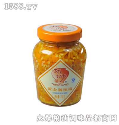 黄金剁辣椒210g×12瓶