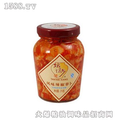 风味辣椒萝卜210g×12瓶