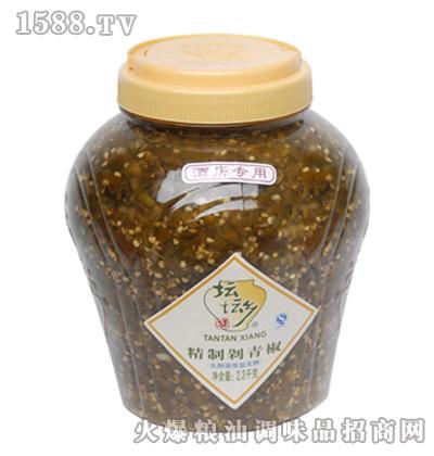 脆鲜剁青椒2.3kg×6桶