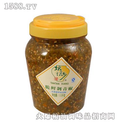 脆鲜剁青椒1.15kg×6桶