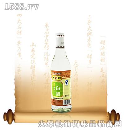 金标纯粮白醋420ML