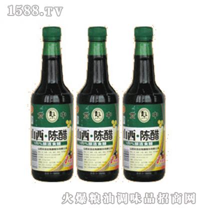 罗贯中420ml瓶装陈醋