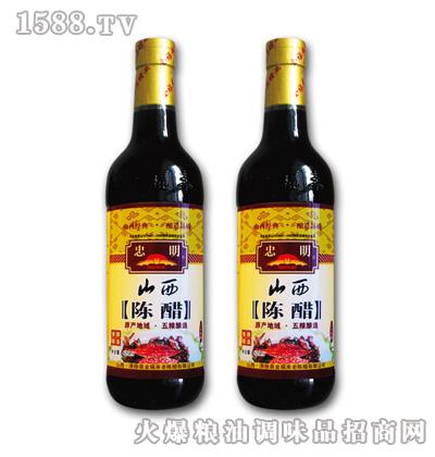 忠明420ml三年陈醋