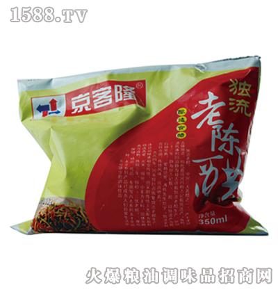 京客隆袋醋350ml