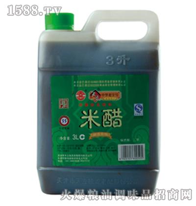 天立桶米醋3L