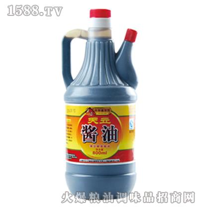 天立壶酱油800ml