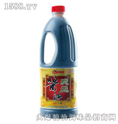 天立黄豆酱油1L