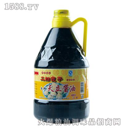天立二姑包子专用酱油2L