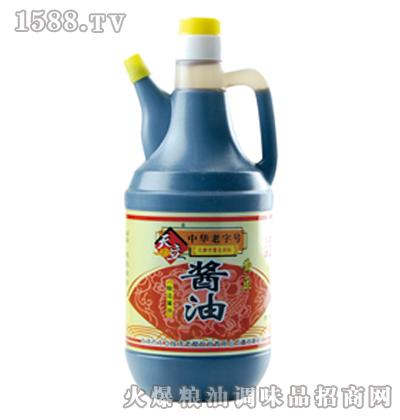 天立壶酱油960ml