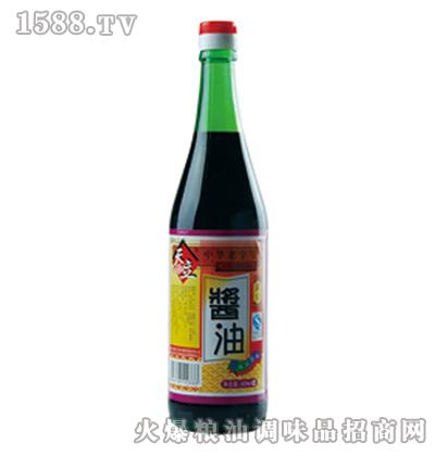天立黄豆酱油620ml