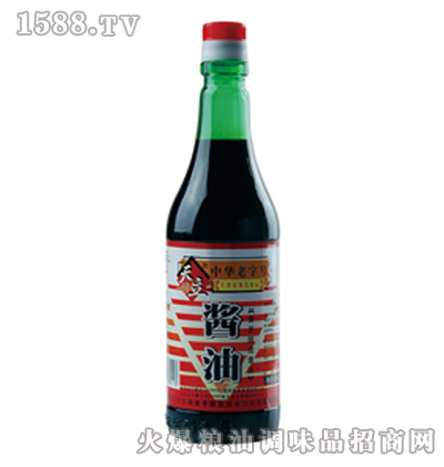 天立黄豆酱油450毫升