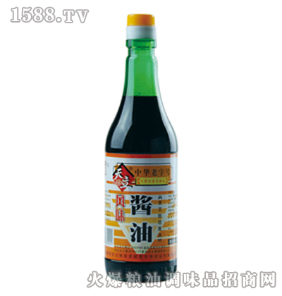 天立风味酱油450ml