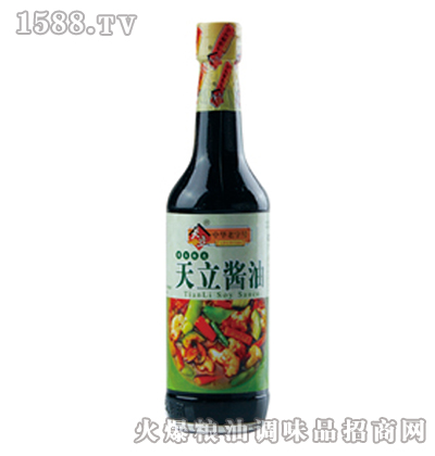 天立黄豆酱油500ml